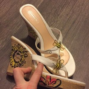 Coach decorative wedges